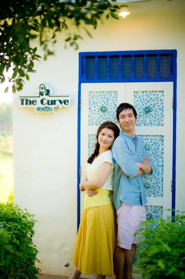 Yuen and Chan's The Buda Muaklek Resort pre-wedding (prenuptial, engagement session) in Saraburi, Thailand. The Buda Muaklek Resort_Saraburi_wedding_photographer_Yuen and Chan_2013.TIF