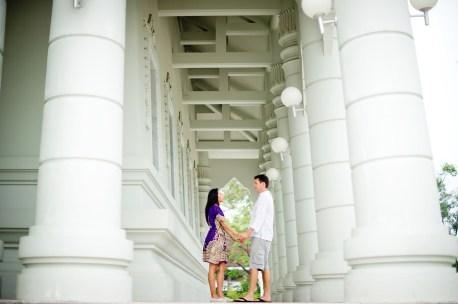 Tarinee and Dyson's Wat Kaew Korawaram pre-wedding (prenuptial, engagement session) in Krabi, Thailand. Wat Kaew Korawaram_Krabi_wedding_photographer_Tarinee and Dyson_1848.TIF