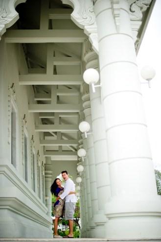 Tarinee and Dyson's Wat Kaew Korawaram pre-wedding (prenuptial, engagement session) in Krabi, Thailand. Wat Kaew Korawaram_Krabi_wedding_photographer_Tarinee and Dyson_1849.TIF