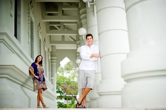 Tarinee and Dyson's Wat Kaew Korawaram pre-wedding (prenuptial, engagement session) in Krabi, Thailand. Wat Kaew Korawaram_Krabi_wedding_photographer_Tarinee and Dyson_1850.TIF