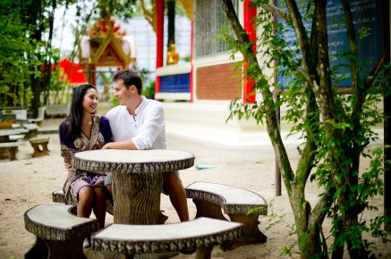 Tarinee and Dyson's Wat Kaew Korawaram pre-wedding (prenuptial, engagement session) in Krabi, Thailand. Wat Kaew Korawaram_Krabi_wedding_photographer_Tarinee and Dyson_1860.TIF