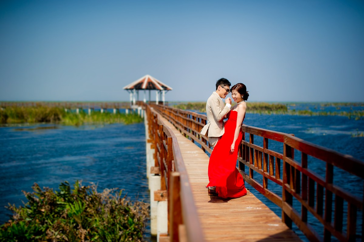 Hua Hin Pre-Wedding: Khao Sam Roi Yot National Park - Hua Hin Beach - Aleenta Hua Hin Resort & Spa