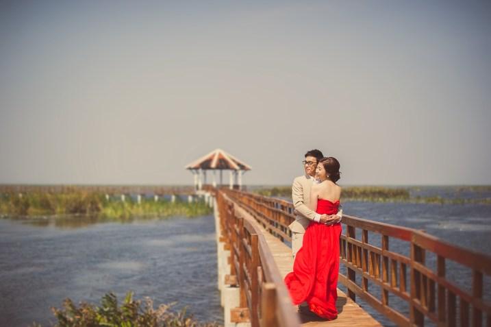 Hua Hin, Thailand - Pre-Wedding (Engagement) photo taken at Khao Sam Roi Yot National Park in Hua Hin, Thailand.