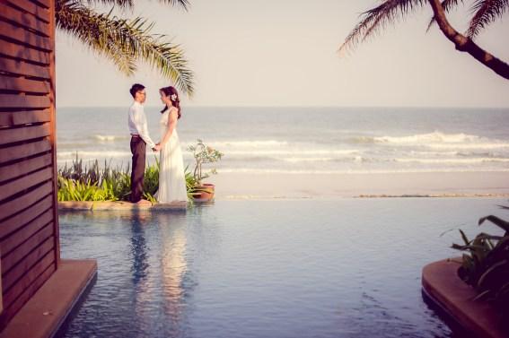 Hua Hin, Thailand - Pre-Wedding (Engagement) photo taken Aleenta Hua Hin Resort & Spa in Thailand.
