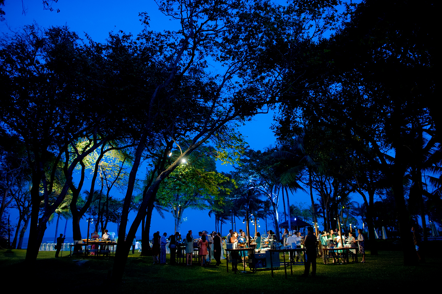 Hua Hin, Thailand - Destination wedding at Hyatt Regency Hua Hin in Thailand.