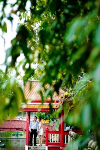 Marble Temple (Wat Benchamabophit) Pre-Wedding Photography