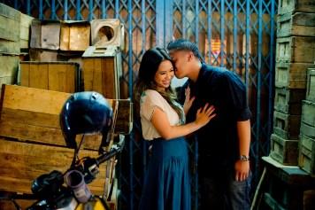 Astrid and Daniel's China Town pre-wedding (prenuptial, engagement session) in Bangkok, Thailand. China Town_Bangkok_wedding_photographer_Astrid and Daniel_01.TIF