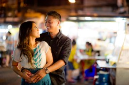 Astrid and Daniel's China Town pre-wedding (prenuptial, engagement session) in Bangkok, Thailand. China Town_Bangkok_wedding_photographer_Astrid and Daniel_03.TIF