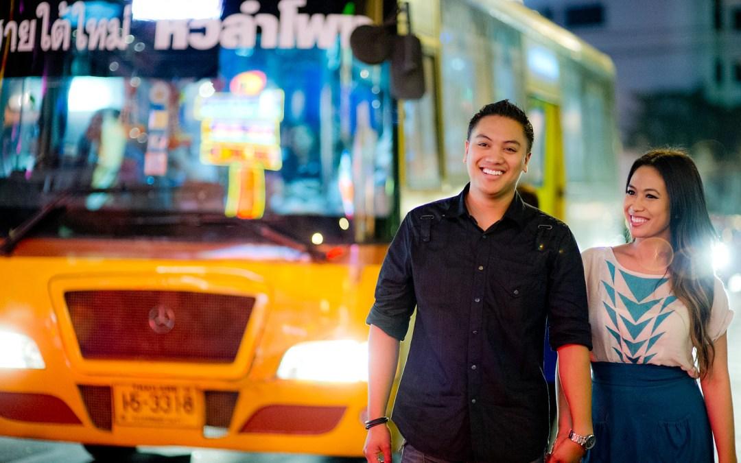 China Town Bangkok Engagement Session: Astrid and Daniel