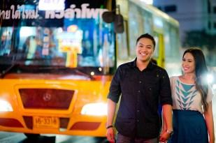China Town Bangkok Engagement Session - Astrid and Daniel