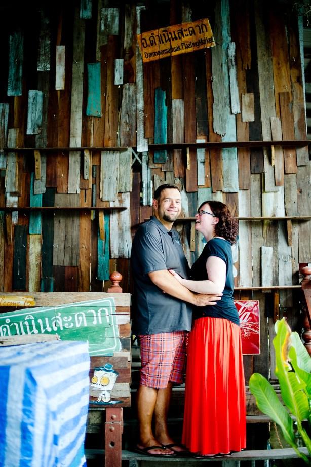 Nina and Michael's Damnoen Saduak Floating Market pre-wedding (prenuptial, engagement session) in Ratchaburi, Thailand. Damnoen Saduak Floating Market_Ratchaburi_wedding_photographer__04.TIF