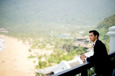 Berry and Tan's InterContinental Danang Sun Peninsula Resort wedding in Danang City, Thailand. InterContinental Danang Sun Peninsula Resort_Danang City_wedding_photographer_Berry and Tan_032.TIF