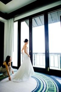 Berry and Tan's InterContinental Danang Sun Peninsula Resort wedding in Danang City, Thailand. InterContinental Danang Sun Peninsula Resort_Danang City_wedding_photographer_Berry and Tan_037.TIF