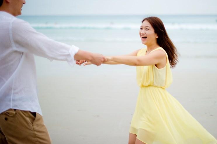 Rachel and Michael's Kata Beach pre-wedding (prenuptial, engagement session) in Phuket, Thailand. Kata Beach_Phuket_wedding_photographer_Rachel and Michael_62.TIF