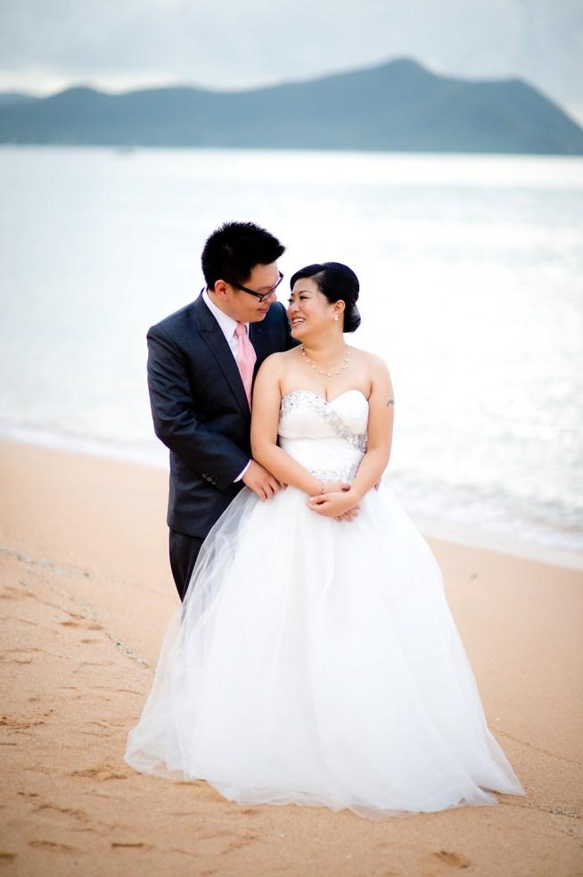 Deborah and Hunter's Pattaya Beach pre-wedding (prenuptial, engagement session) in Pattaya, Thailand. Pattaya Beach_Pattaya_wedding_photographer_Deborah and Hunter_04.TIF
