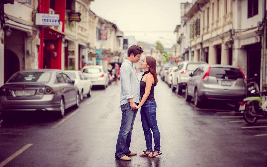 Thailand Phuket Pre Wedding: Rachel and Michael