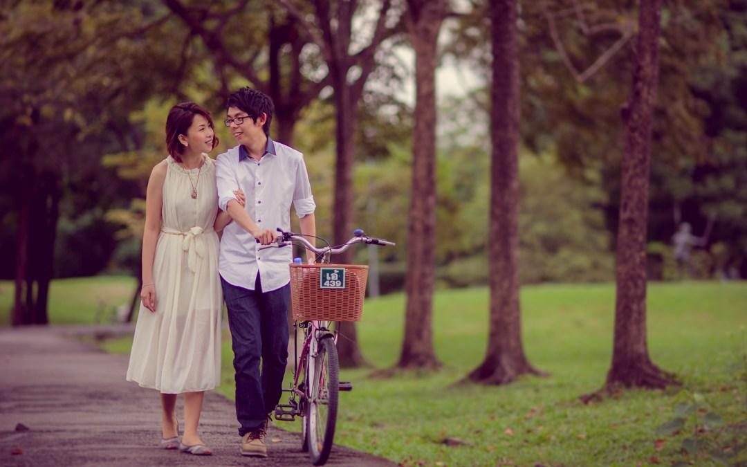 Bangkok Pre-Wedding: Amy and Kong from Malaysia