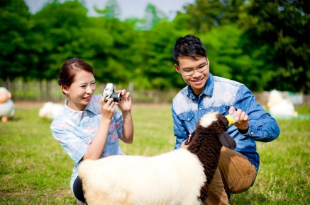 Jill and Daniel's Sheep Land Khao Yai pre-wedding (prenuptial, engagement session) in Nakhon Ratchasima, Thailand. Sheep Land Khao Yai_Nakhon Ratchasima_wedding_photographer_Jill and Daniel_34.TIF