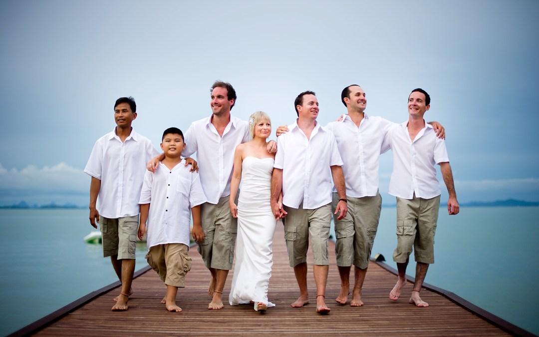 Coconut Island Wedding: Jacqui and David
