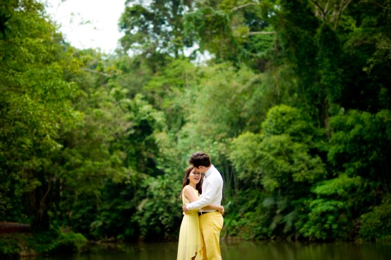 Rachel and Michael's Ton Sai Waterfall pre-wedding (prenuptial, engagement session) in Phuket, Thailand. Ton Sai Waterfall_Phuket_wedding_photographer_Rachel and Michael_43.TIF