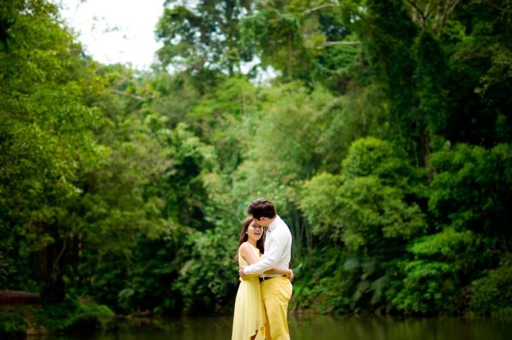 Rachel and Michael's Ton Sai Waterfall pre-wedding (prenuptial, engagement session) in Phuket, Thailand. Ton Sai Waterfall_Phuket_wedding_photographer_Rachel and Michael_43.TIF