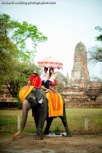 American Couple's Wangchang Lae Phanait pre-wedding (prenuptial, engagement session) in Ayutthaya, Thailand. Wangchang Lae Phanait_Ayutthaya_wedding_photographer_American Couple_09.JPG
