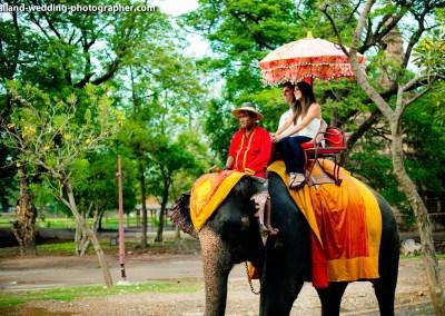 Wangchang Lae Phanait (Elephant Ride)