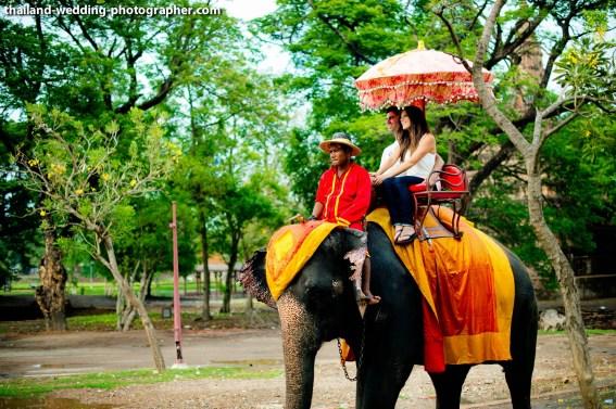 American Couple's Wangchang Lae Phanait pre-wedding (prenuptial, engagement session) in Ayutthaya, Thailand. Wangchang Lae Phanait_Ayutthaya_wedding_photographer_American Couple_11.JPG