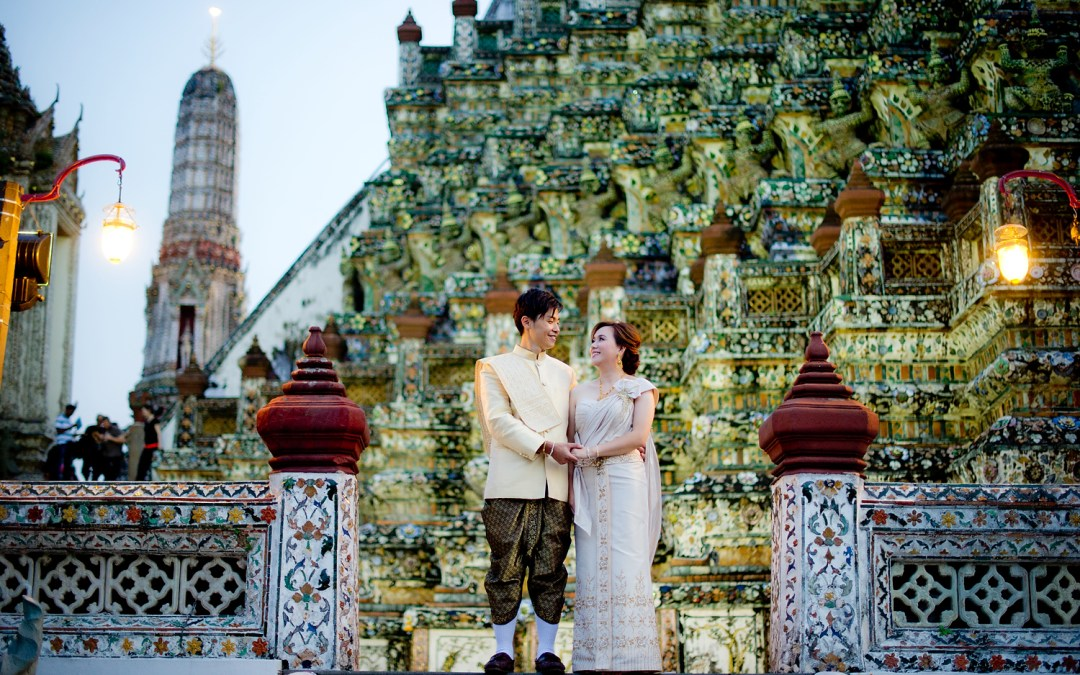 Pre-Wedding (Engagement Session) in Bangkok: Gloria and Evan