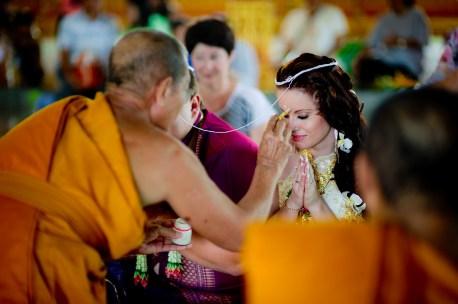 A and M's Wat Huay Yai wedding in Pattaya, Thailand. Wat Huay Yai_Pattaya_wedding_photographer_A and M_3.TIF