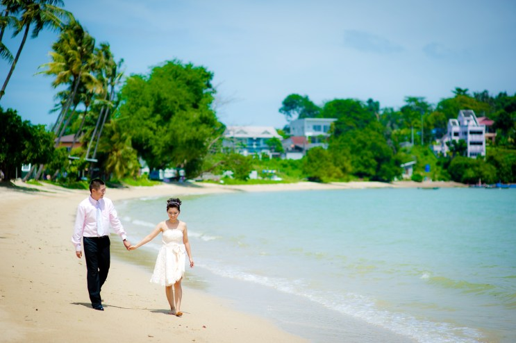 Xiaofen and Eric's Crowne Plaza Phuket Panwa Beach pre wedding (prenuptial, engagement session) in Phuket, Thailand. Crowne Plaza Phuket Panwa Beach_Phuket_wedding_photographer_Xiaofen and Eric_11.JPG