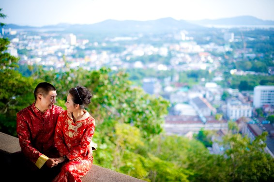 Xiaofen and Eric's Rang Hill Viewpoint pre wedding (prenuptial, engagement session) in Phuket, Thailand. Rang Hill Viewpoint_Phuket_wedding_photographer_Xiaofen and Eric_32.JPG