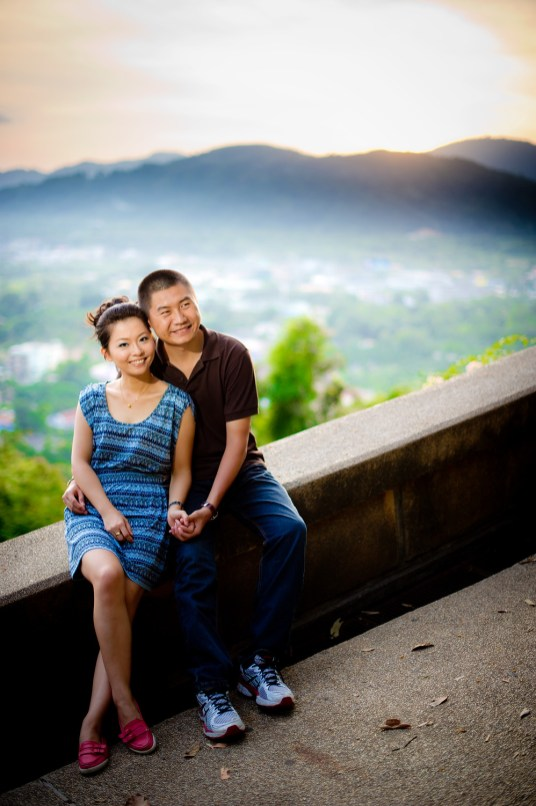 Xiaofen and Eric's Rang Hill Viewpoint pre wedding (prenuptial, engagement session) in Phuket, Thailand. Rang Hill Viewpoint_Phuket_wedding_photographer_Xiaofen and Eric_41.JPG