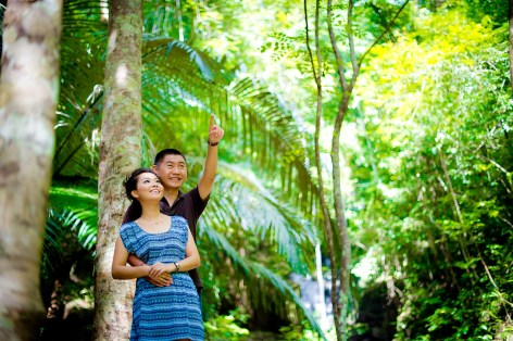 Xiaofen and Eric's Ton Sai Waterfall pre wedding (prenuptial, engagement session) in Phuket, Thailand. Ton Sai Waterfall_Phuket_wedding_photographer_Xiaofen and Eric_15.JPG