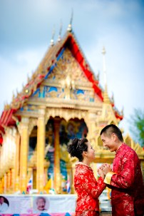 Xiaofen and Eric's Wat Choeng Thale pre wedding (prenuptial, engagement session) in Phuket, Thailand. Wat Choeng Thale_Phuket_wedding_photographer_Xiaofen and Eric_23.JPG