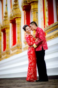 Xiaofen and Eric's Wat Choeng Thale pre wedding (prenuptial, engagement session) in Phuket, Thailand. Wat Choeng Thale_Phuket_wedding_photographer_Xiaofen and Eric_29.JPG