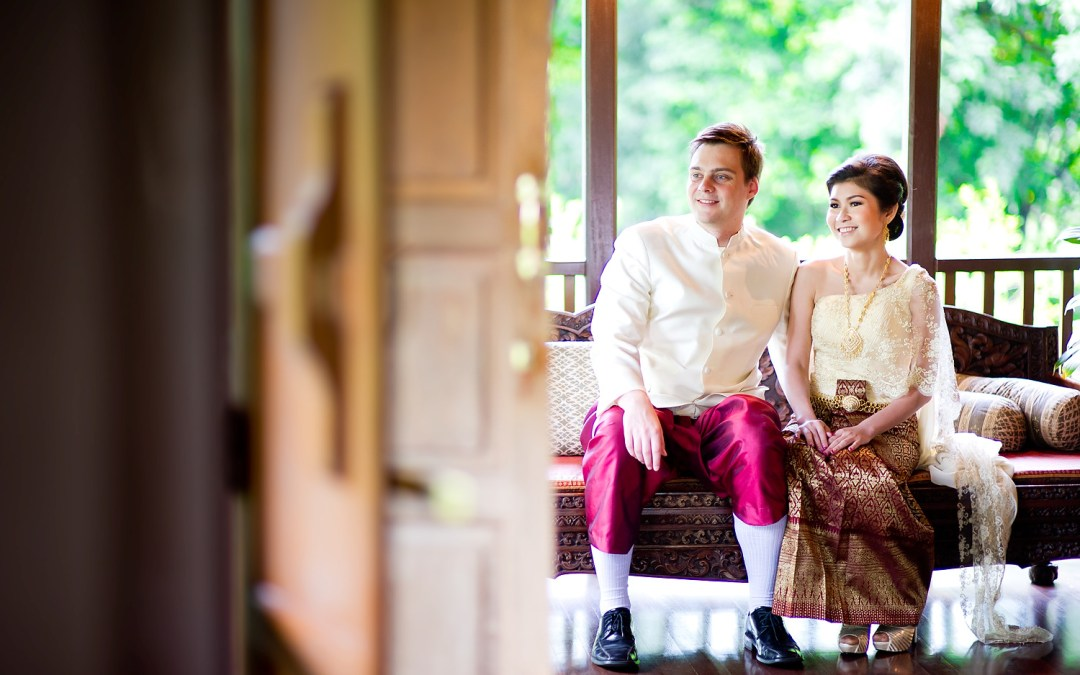 Photo of the Day: Rose Garden Riverside Wedding