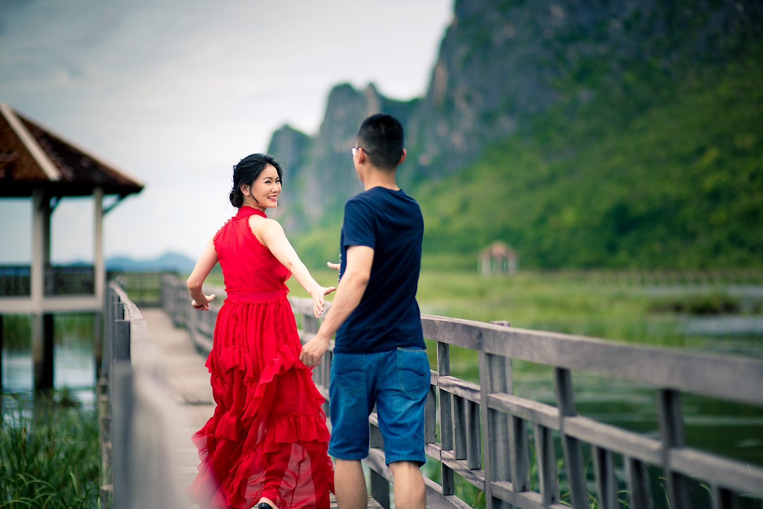 Photo of the Day: Pre-Wedding at Khao Sam Roi Yot Hua Hin