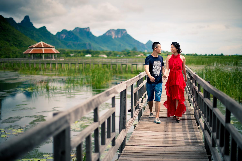 National Park Sam Night Thailand Time Khao Yot Roi