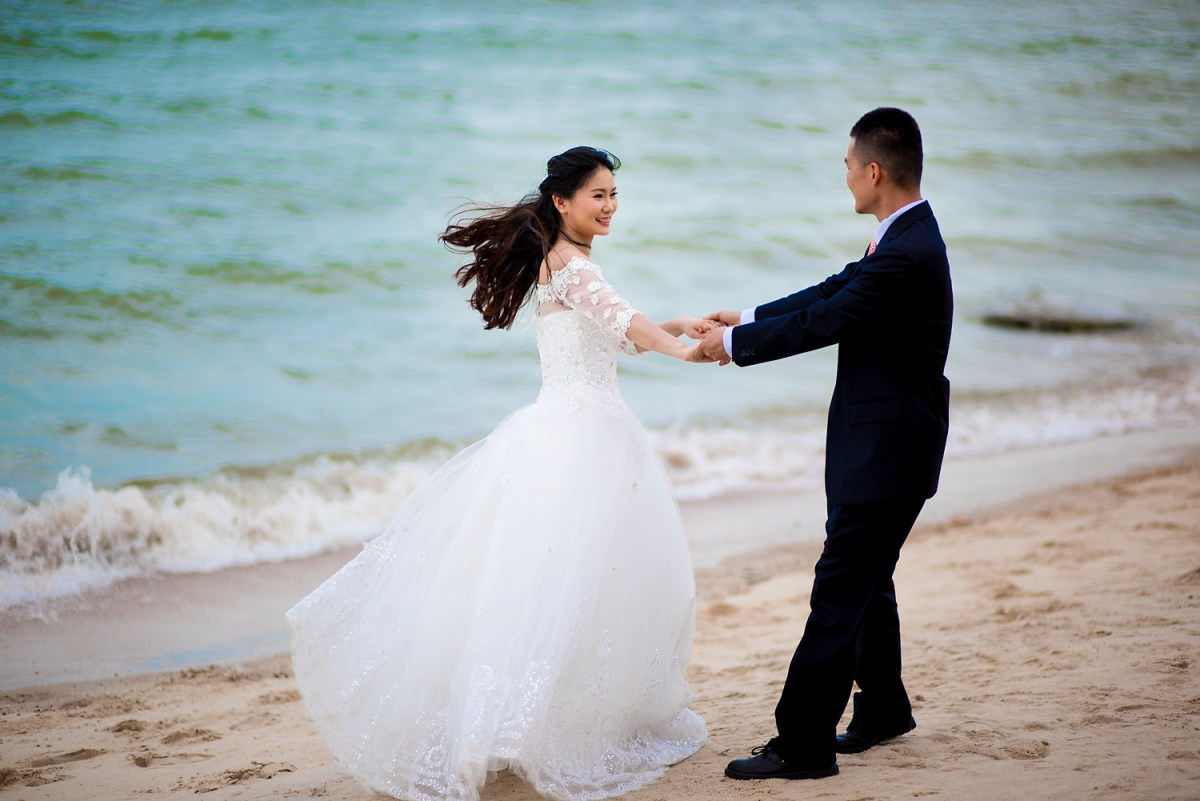 Photo of the Day: Hua Hin Beach Pre-Wedding