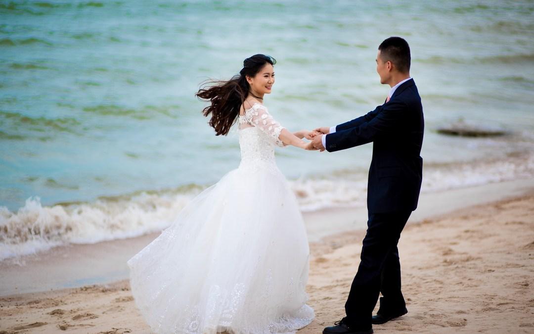 Photo of the Day: Hua Hin Beach Pre-Wedding