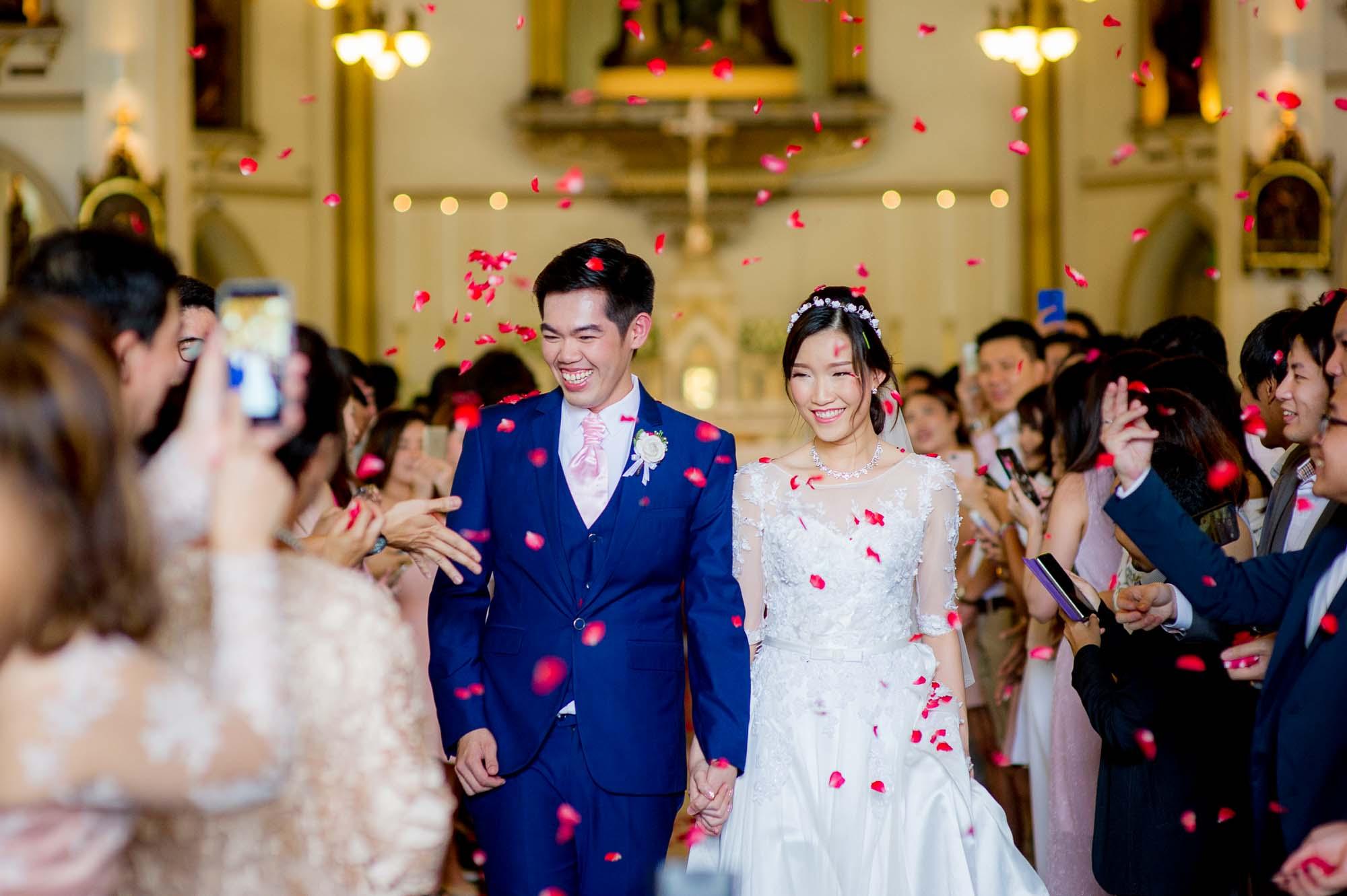 Preview: Holy Rosary Church Bangkok Thailand Wedding