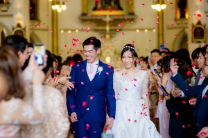 Holy Rosary Church Bangkok Thailand Wedding