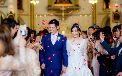 Preview: Holy Rosary Church Bangkok Thailand Wedding