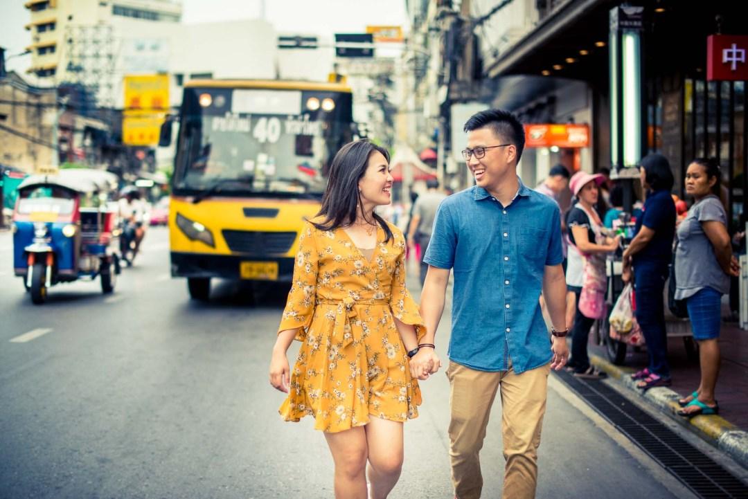 Bangkok Thailand Wedding Photography | China Town