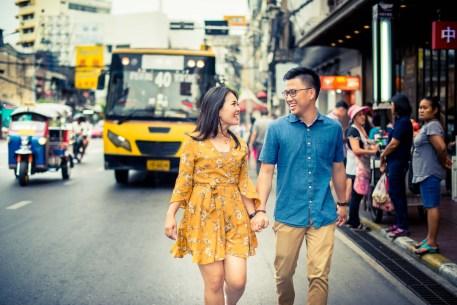 Bangkok Thailand Wedding Photography   China Town