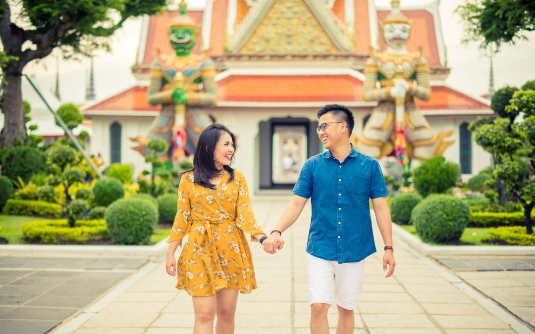 Bangkok Pre-Wedding | The Grand Palace – Wat Arun – China Town
