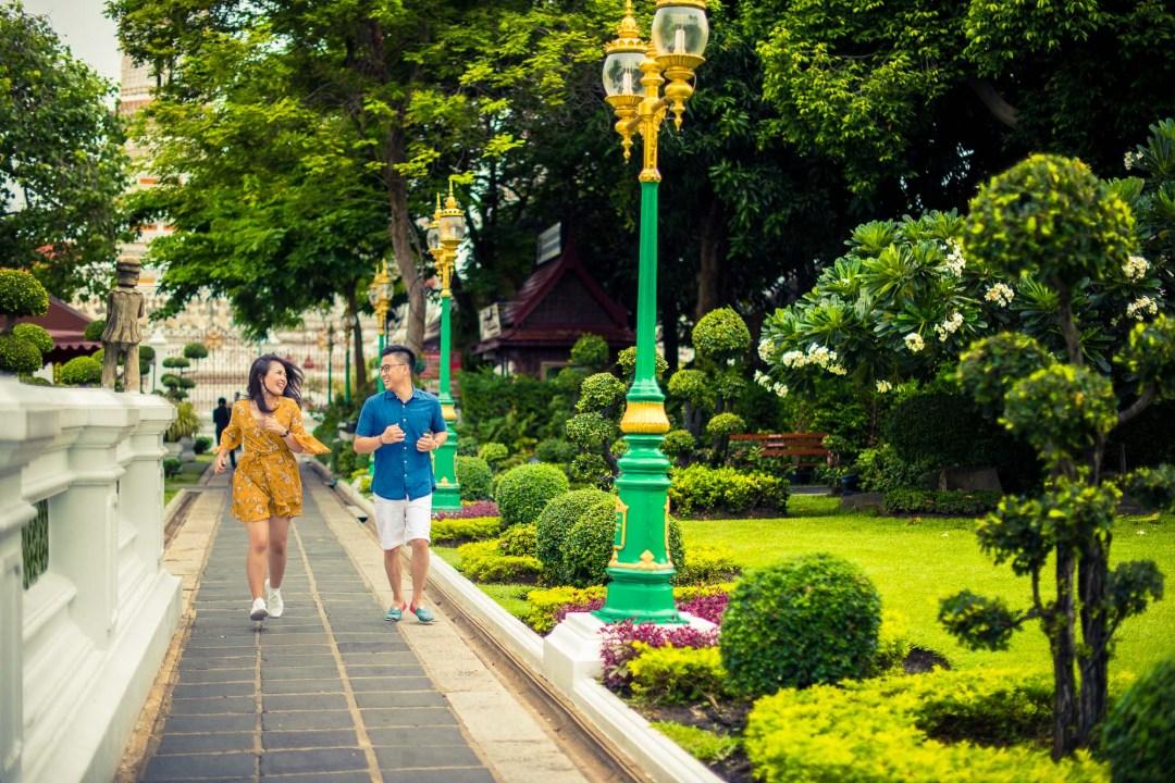 Pre-Wedding at Wat Arun in Bangkok Thailand | Bangkok Wedding Photography