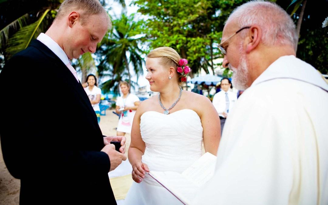 Thailand InterContinental Pattaya Resort Wedding | Hilde & Stein from Norway