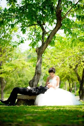Thailand Bangkok Rama IX Park Wedding Photography   NET-Photography Thailand Wedding Photographer